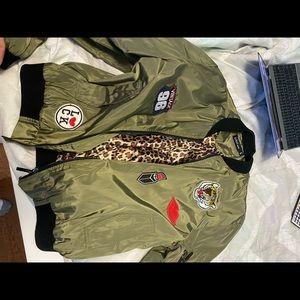 patch varsity jacket